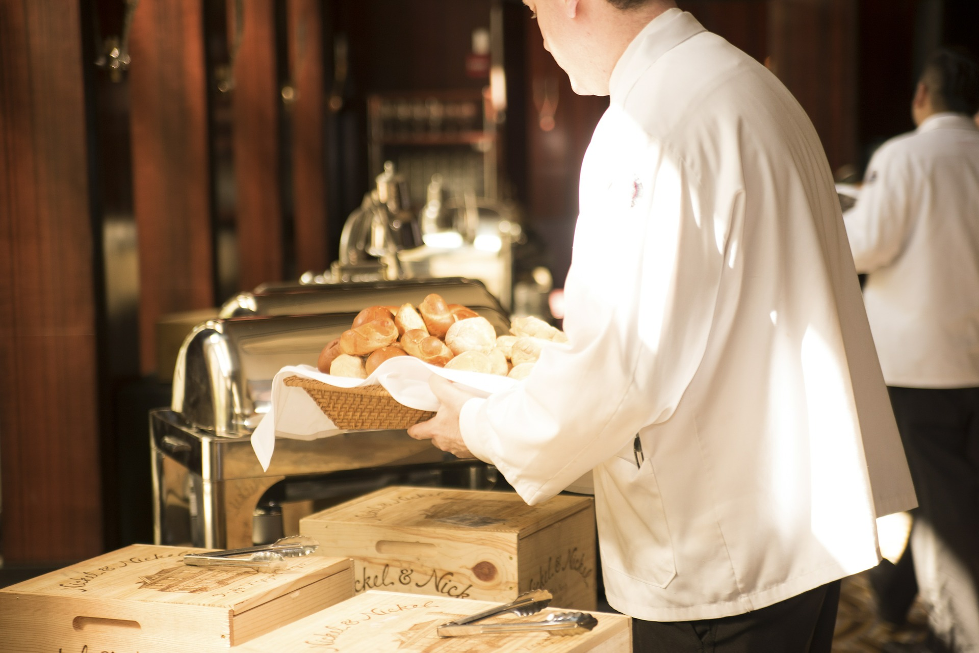 posluga, konobar, ugostiteljstvo, objekat, gost